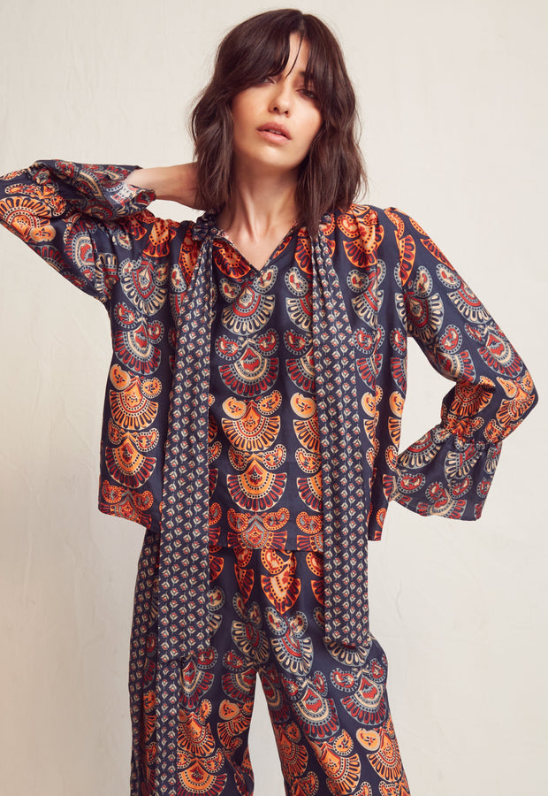 WARM - August Blouse