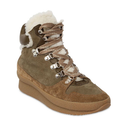 Brendta Shearling & Suede Boots
