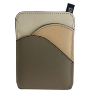 Walden Card Holder in Pastel Grey