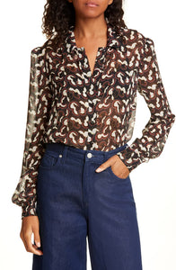 SALONI - Vanessa Silk Shirt