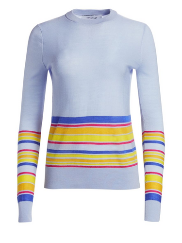 DEREK LAM 10 CROSBY - Striped Knit