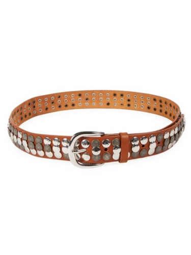 ISABEL MARANT - Moha Studded Leather Belt