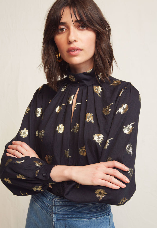 WARM - Black Pattern Shirt