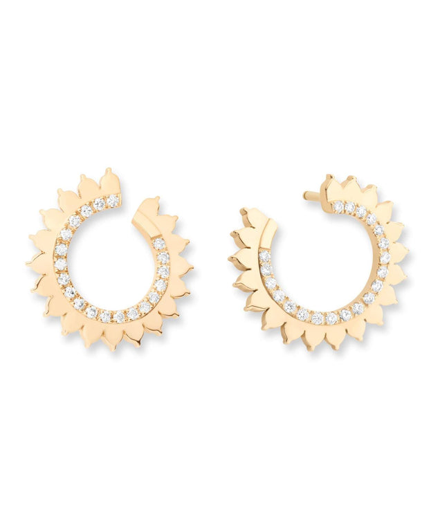 Vendome Gold Earrings