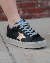 GOLDEN GOOSE DELUXE BRAND - Black Gold Hi Star