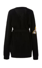 ALTUZARRA - Jareth Embroidered Wool-Blend Cardigan