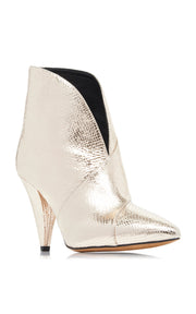 Archenn Metallic Gold Leather Boots