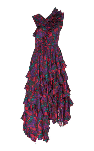 ULLA JOHNSON - Imogen Violet Dress