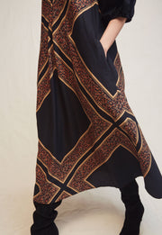 WARM - Black Multicolored Dress