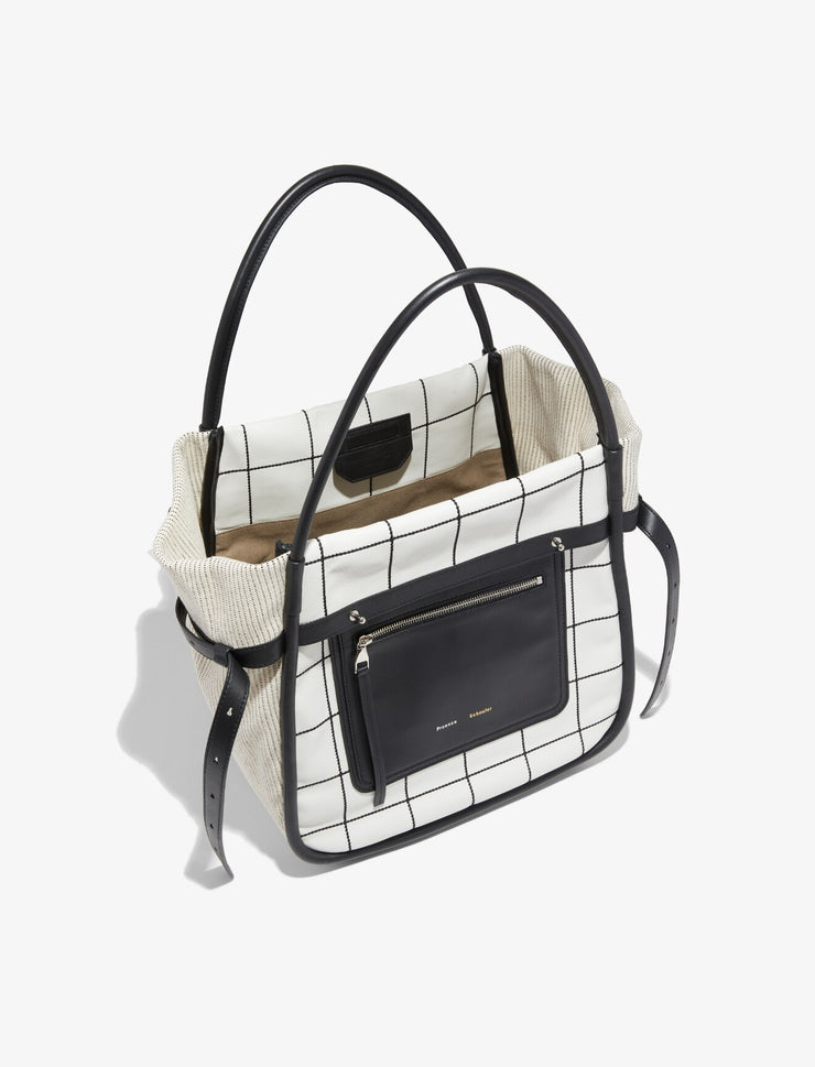 PROENZA SCHOULER - Inside Out Tote Plaid