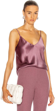 Gloria Silk Tank Top