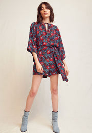 WARM - Black Multi Romper