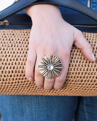 LANVIN - Sunburst Ring