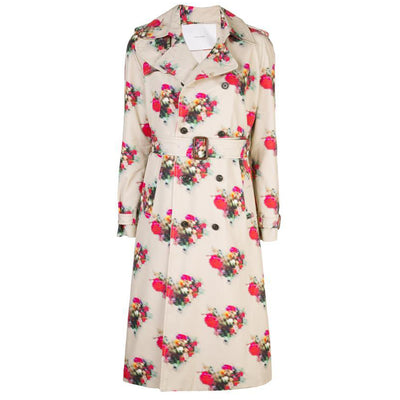 Printed Cotton Twill Trench