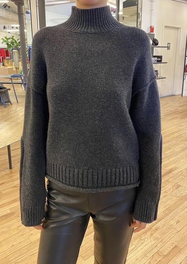 Luxe Wool Cashmere Turtleneck