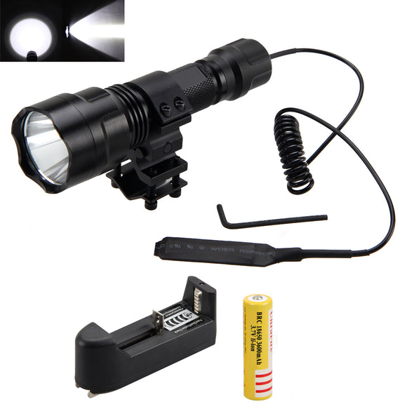 T6 LED Light Torch with Shotgun/Rifle - The Rugged Few