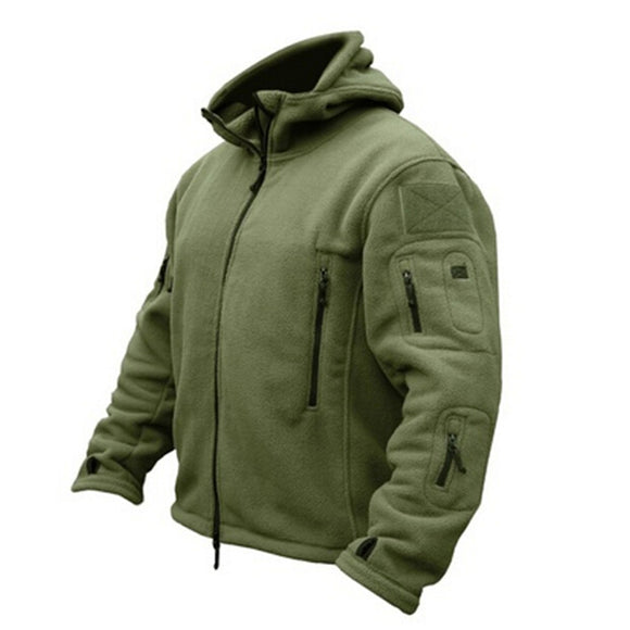 Man Fleece Tactical Softshell Jacket - The Rugged Few