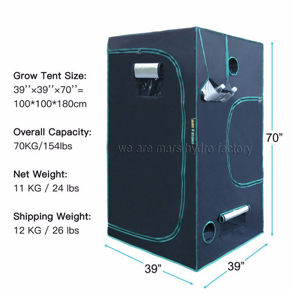Indoor Hydroponics Grow Tent - The Rugged Few