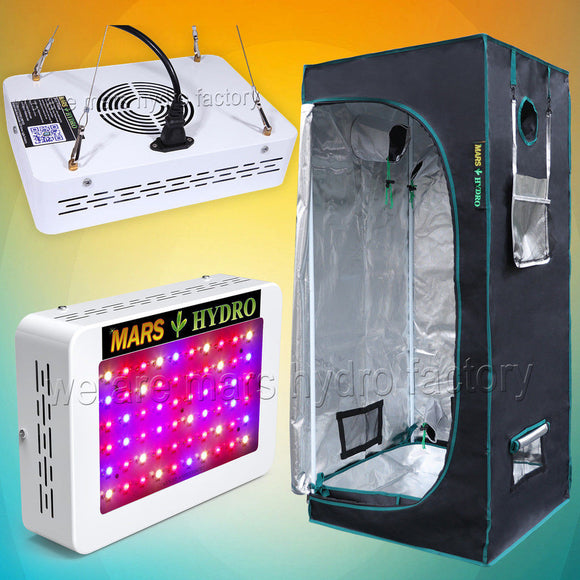 Mars 300W Led Grow Light Tent Kit - The Rugged Few