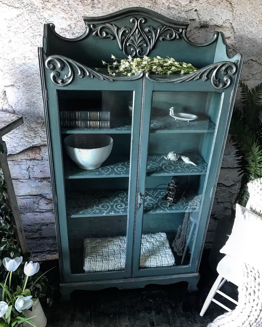Reclaimed Heirloom's: Antique China Cabinet