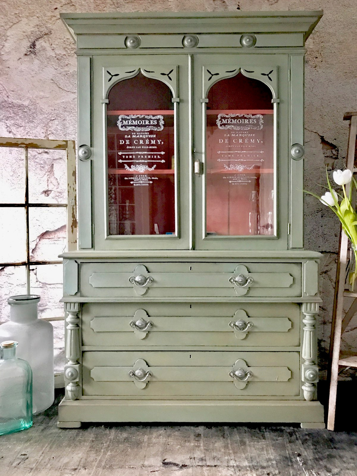 Reclaimed Heirloom S Antique Farm House Kitchen Hutch