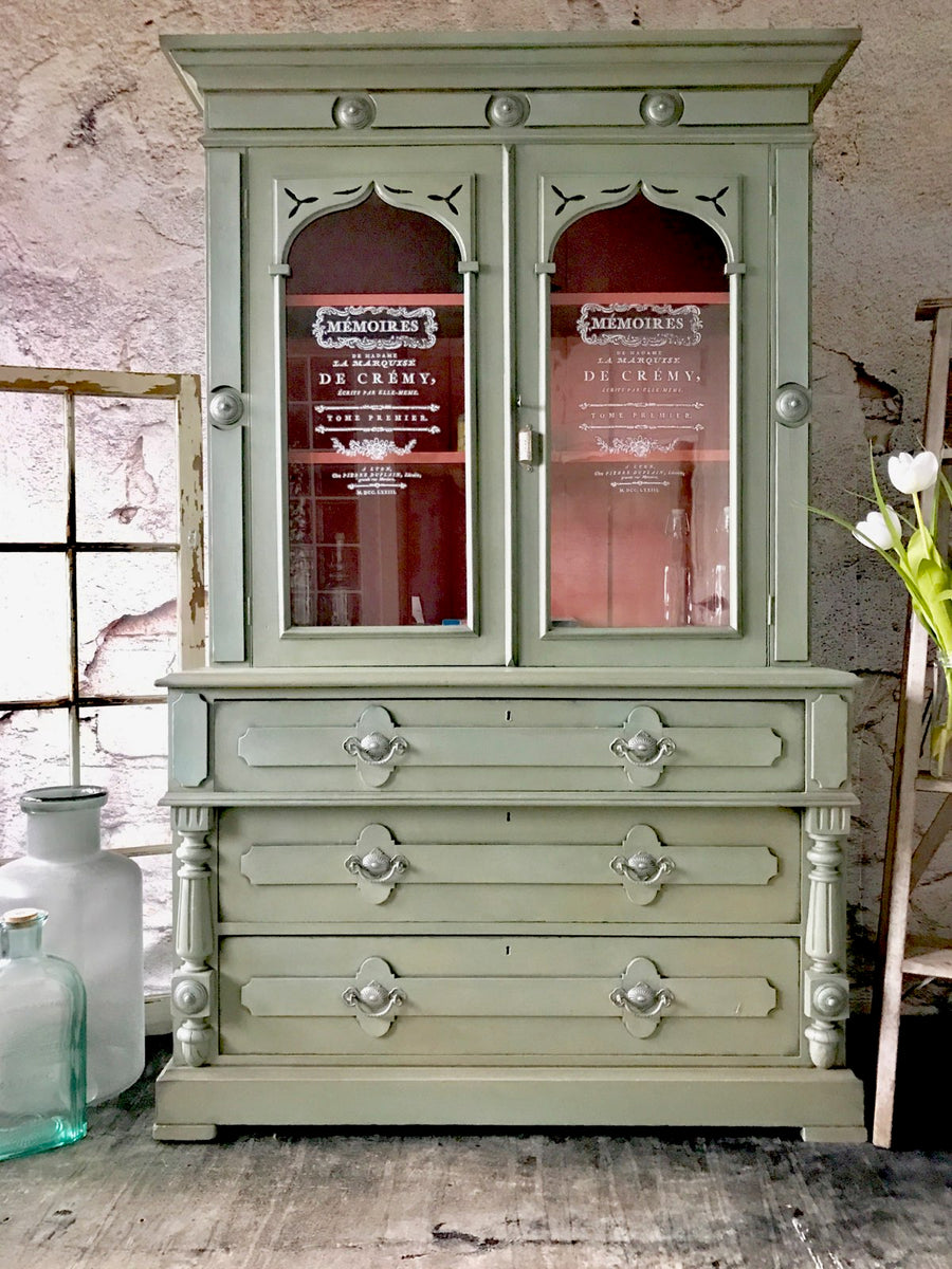 Reclaimed Heirloom's: Antique Farm House Kitchen Hutch