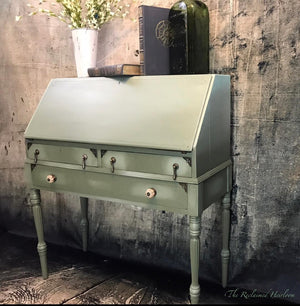Reclaimed Heirloom's: Luck of the Irish Writing Desk