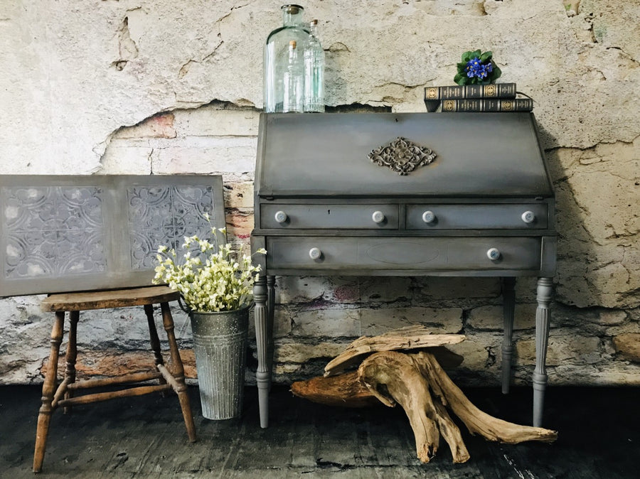 Reclaimed Heirloom's: Si Barcelona! Small Entry Desk
