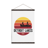 Detroit Lakes // Canvas Print