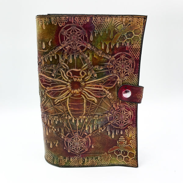 Carved Leather Journal-Nature and Wild Life