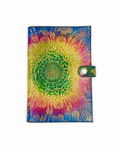 Stamped Leather Journal- Egyptian Mandala