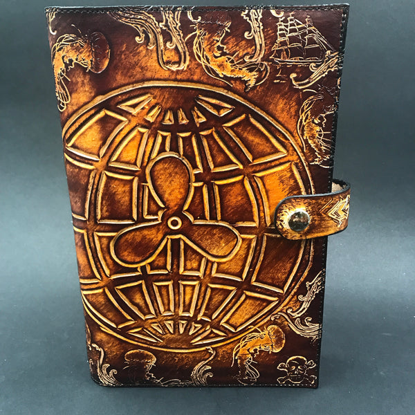 Carved Leather Journal- Miscellaneous Designs
