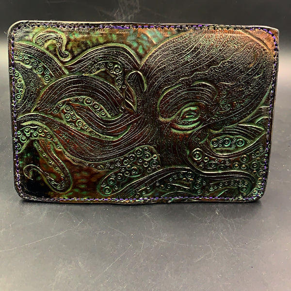 Carved Leather Passport Wallet-Miscellaneous Designs