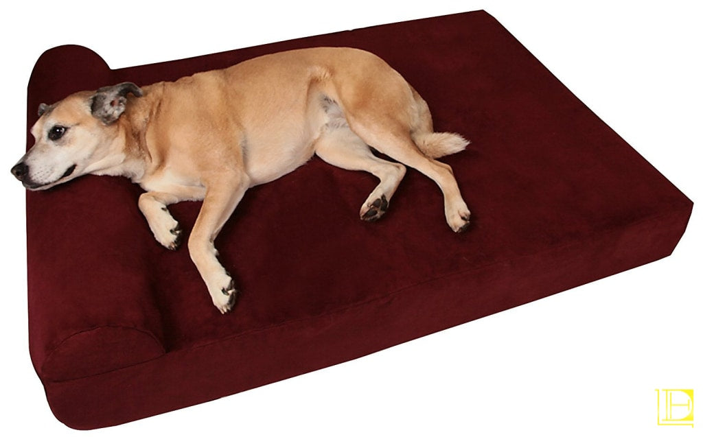 Big Barker 7 Pillow Top Orthopedic Dog Bed For Large And Extra Breed Dogs (Headrest Edition) (48 X