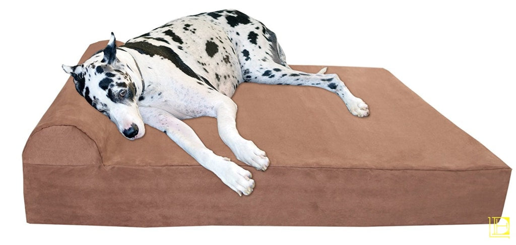 Big Barker 7 Pillow Top Orthopedic Dog Bed For Large And Extra Breed Dogs (Headrest Edition)