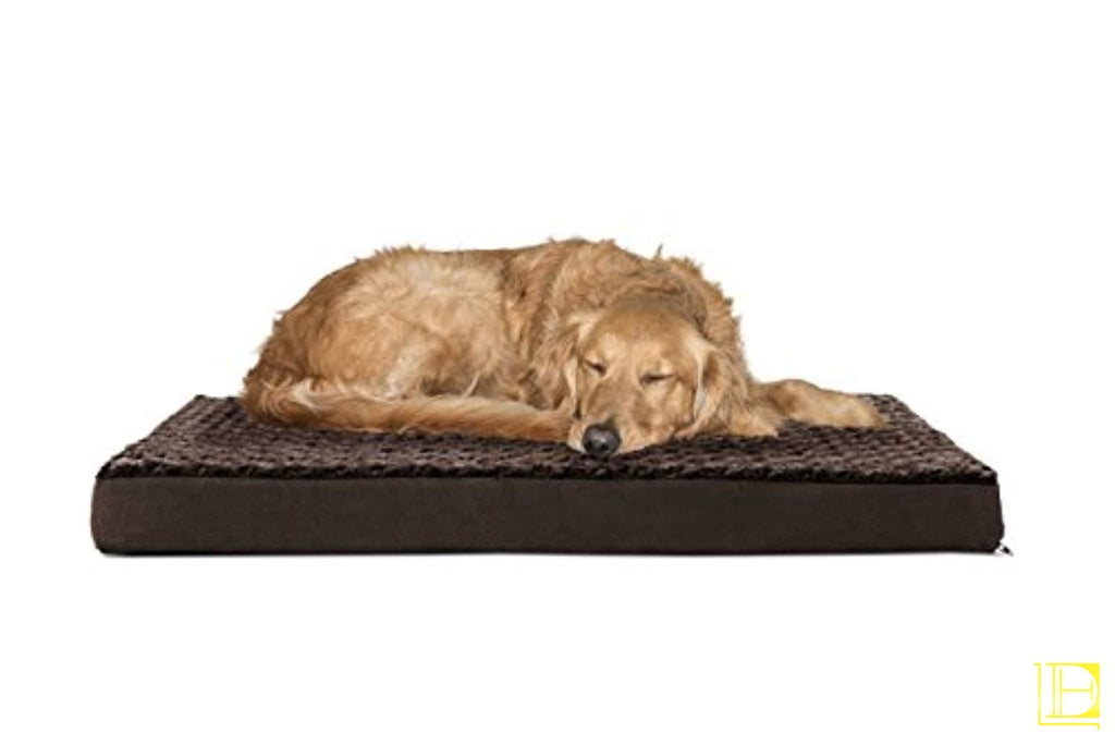 Deluxe Orthopedic Pet Bed Mattress For Dogs Small / Camel Standard Packaging