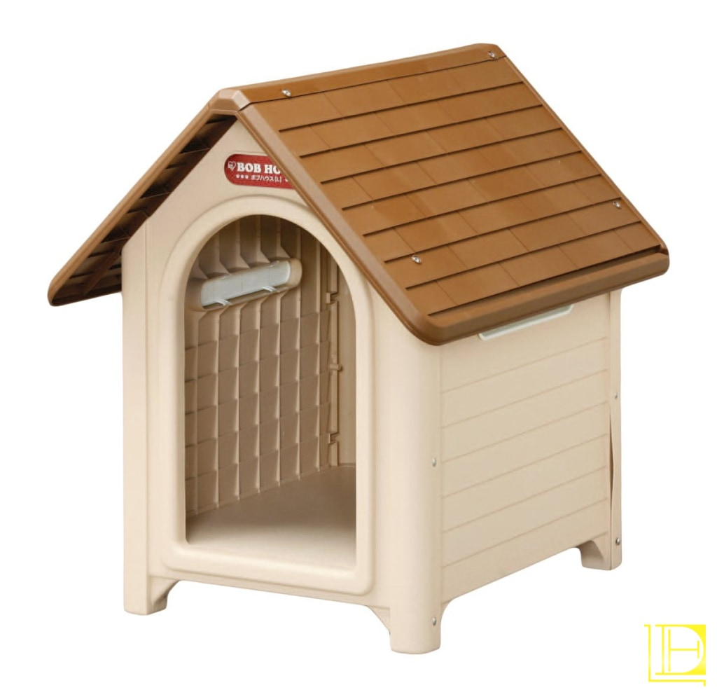 Iris Plastic Dog House Beige