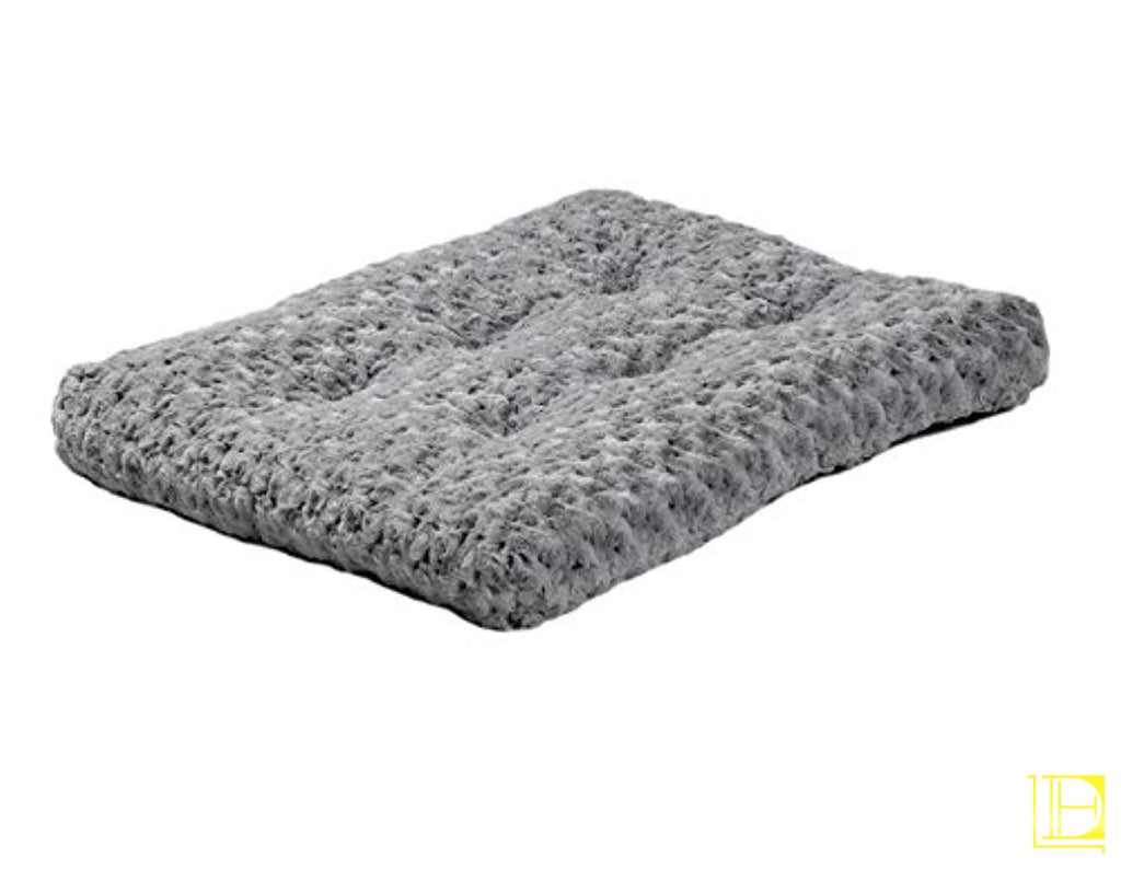 Stylish & Comfy Deluxe Plush Dog Bed 30-Inch / Gray