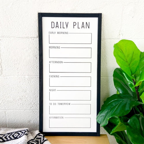 Save The Day Whiteboard (Black Trim)
