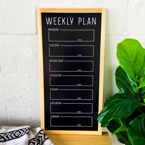 Save The Week Chalkboard