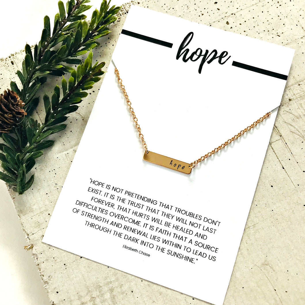 -LIFT- Hope Necklace