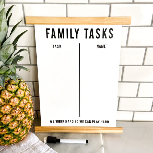 Stop the Arguing: Family Task Board