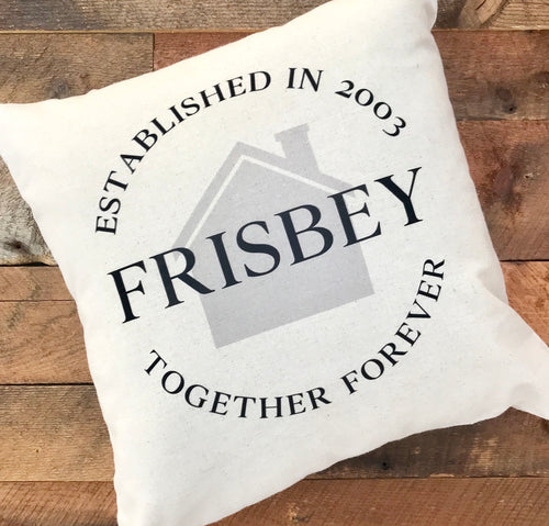 Personalized Together Forever Pillow