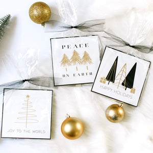 Holiday Modern Gift Signs (Set of Three)