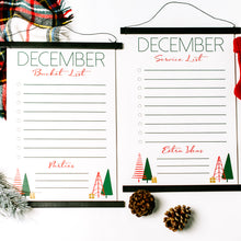 Bonus Christmas Bucket & Service List Whiteboards