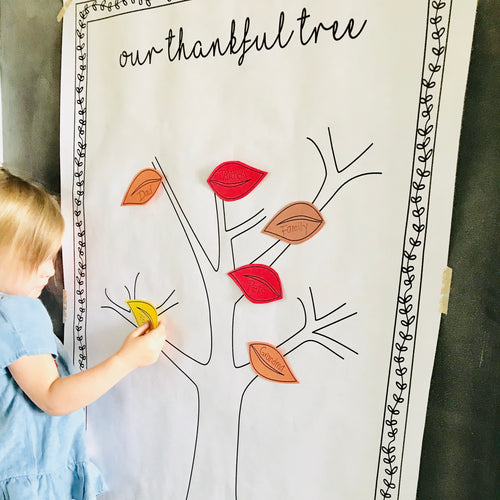 Thankful Tree Large Print Download
