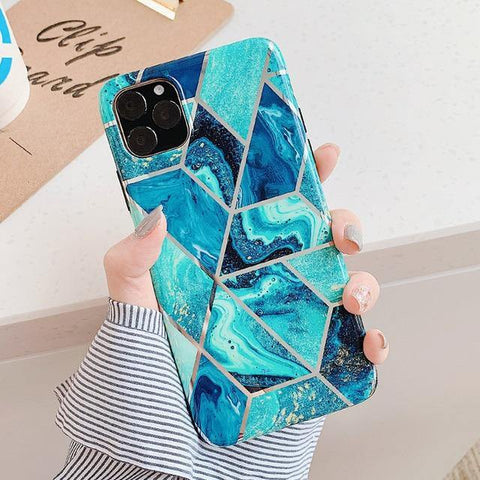 Blue Sea Geomea Case for iPhone