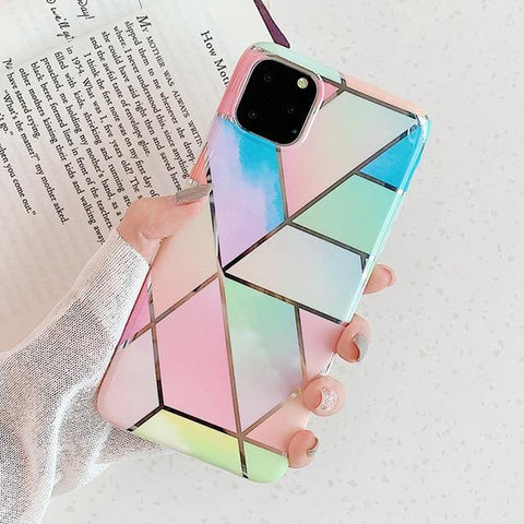 Rainbow Geomea Case for iPhone