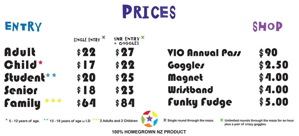 Auckland Prices