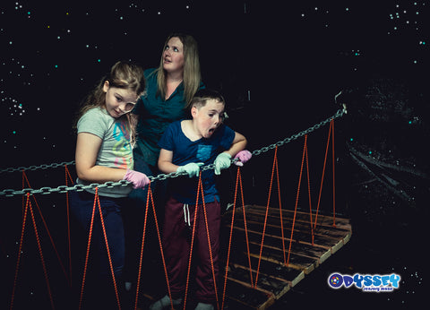 Swing Bridge Cave Odyssey Sensory Maze Queenstown